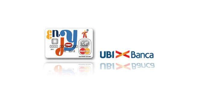 Carta Enjoy Ubi Banca