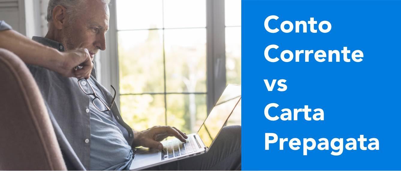 Conto Corrente vs Carta Prepagata