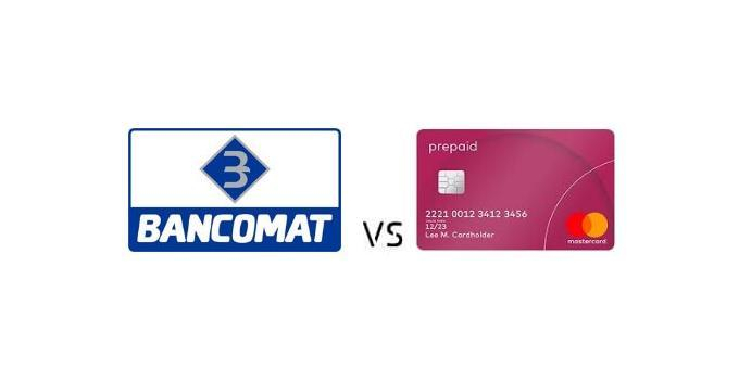 Differenza tra Bancomat e Carta Prepagata