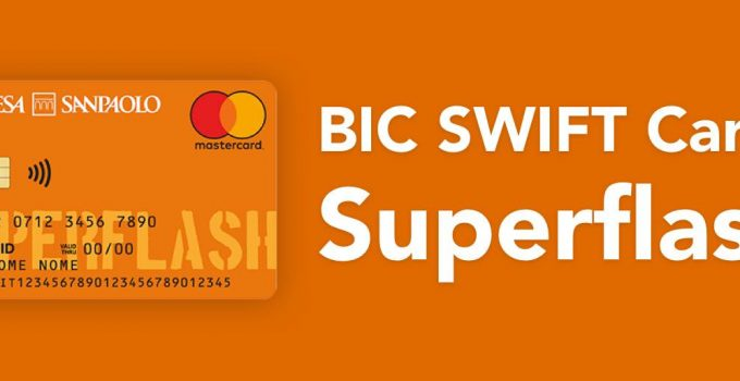 BIC SWIFT Carta Superflash