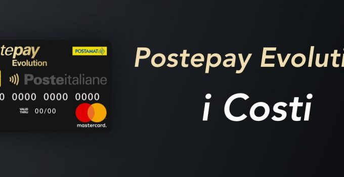 Postepay Evolution i Costi
