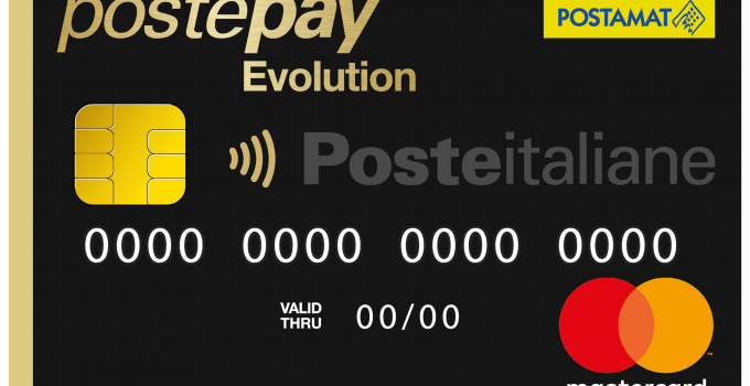 carta postepay evolution